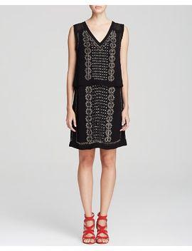 mendez-fringe-detail-dress by nookie