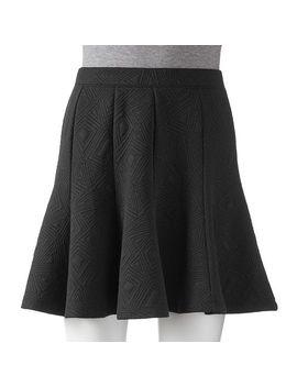 apt-9®-geometric-gored-mini-skirt---womens by kohls