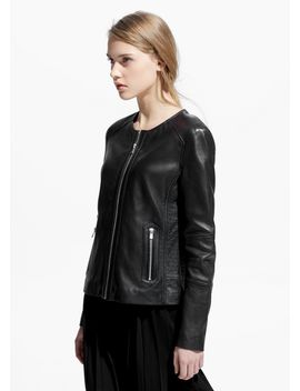 zip-leather-jacket by mango
