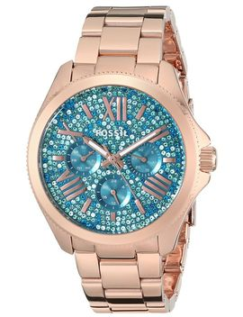 fossil-womens-am4594-cecile-multifunction-stainless-steel-watch---rose-gold-tone by fossil