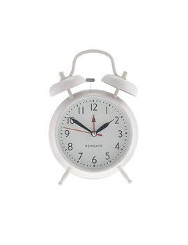 newgate®-covent-garden-alarm-clock-in-linen-white by newgate
