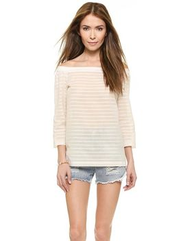 striped-lawn-vinata-tee by theory