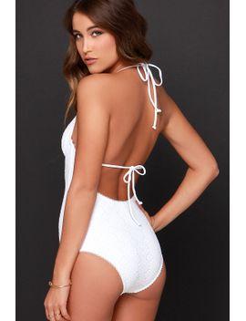somedays-lovin-effeminate-ivory-lace-one-piece-swimsuit by somedays-lovin