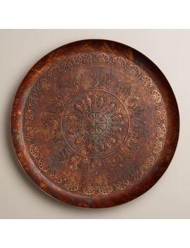 round-copper-tray by world-market