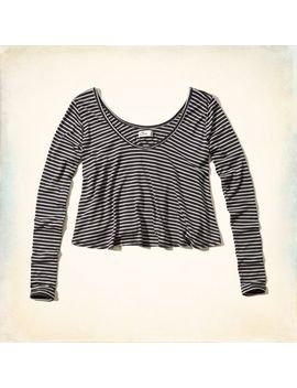avalon-place-easy-crop-tee by hollister