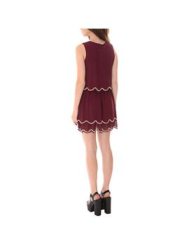 true-decadence-scallop-sequin-dress,-maroon by true-decadence