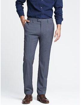 modern-slim-blue-wool-dress-pant by banana-repbulic