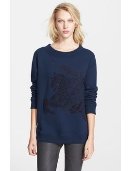embroidered-sweatshirt by burberry-brit