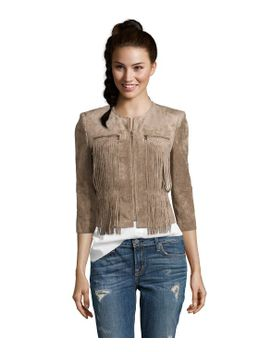mocha-stretch-woven-microsuede-reiss-fringe-jacket by bcbgmaxazria
