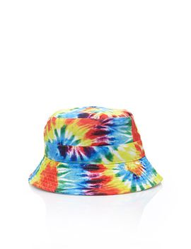 tie-dye-bucket-hat by forever-21