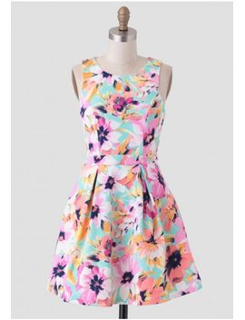 a-sight-to-see-floral-dress by ruche
