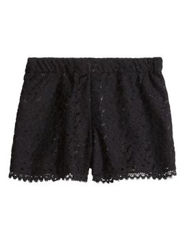 lace-shorts by h&m