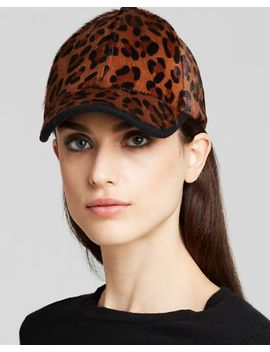 calf-hair-baseball-cap by august-accessories