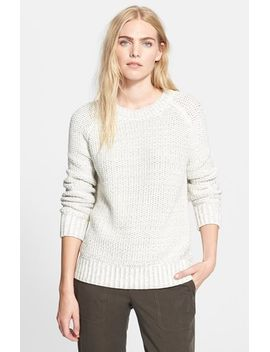 chunky-mesh-sweater by vince