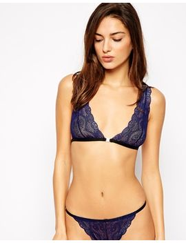asos-mary-kate-lace-lingerie-set-in-navy by asos