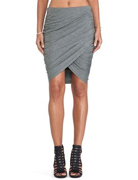 grey-slim-bodycon-skirt by sheinside