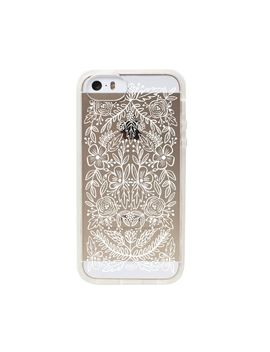 transparent-floral-lace-slim-cell-phone-cover-for-iphone-5_5s-by-rifle-paper-co by rifle-paper-co