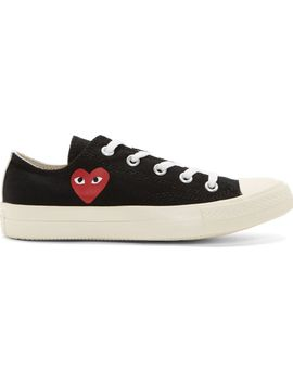 black-heart-logo-converse-edition-low-top-sneakers by comme-des-garçons-play