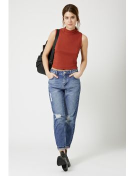 moto-black-ripped-hayden-jeans by topshop