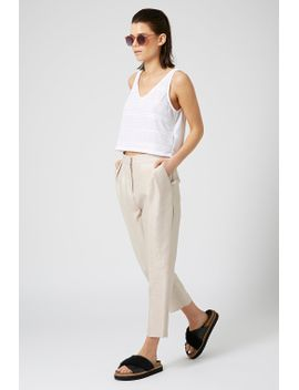 premium-dupion-peg-trousers by topshop