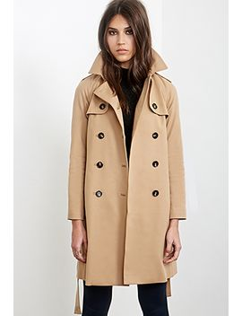 longline-trench-coat by forever-21