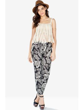 tropical-night-slouchy-pants by agaci