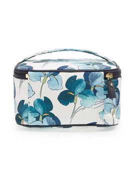 floral-print-train-case by tory-burch