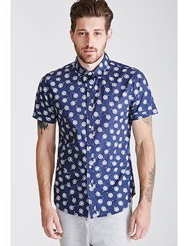 dandelion-print-shirt by forever-21