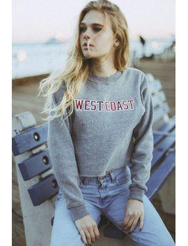 nancy-west-coast-patch-sweatshirt by brandy-melville