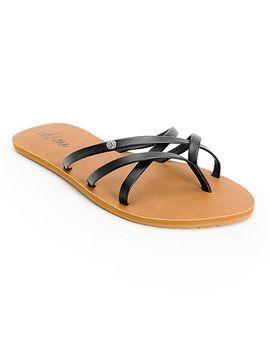 volcom-new-school-black-sandals by volcom