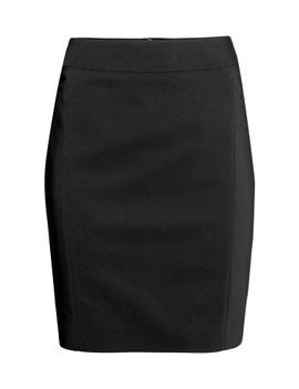 knee-length-skirt by h&m