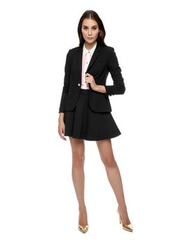 outlet---solid-1-button-ponte-blazer by juicy-couture