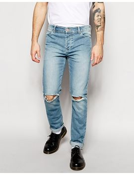 asos-skinny-jeans-with-rips by asos