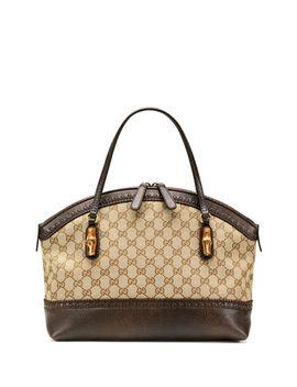 laidback-crafty-medium-original-gg-canvas-bag,-brown by gucci