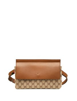 bridle-original-gg-canvas-belt-bag,-tan by gucci