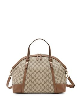nice-gg-supreme-canvas-top-handle-bag,-brown by gucci