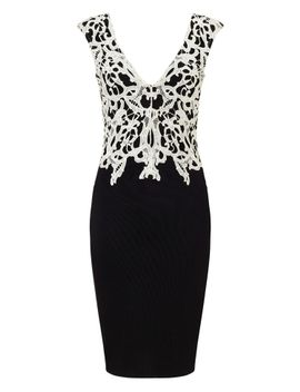 lipsy-applique-contrasting-lace-dress by lipsy