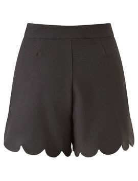 michelle-keegan-scallop-edged-shorts by lipsy