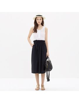 paperbag-tank-dress-in-colorblock by madewell