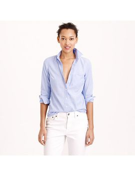 petite-everyday-shirt-in-end-on-end-cotton by jcrew