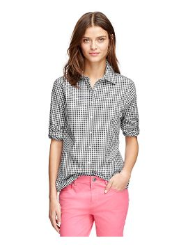 non-iron-classic-fit-gingham-dress-shirt by brooks-brothers