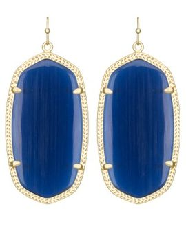 danielle-earrings-in-navy-cats-eye by kendra-scott