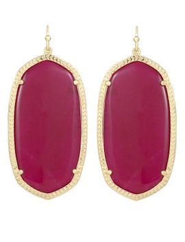 danielle-earrings-in-fuchsia-jade by kendra-scott