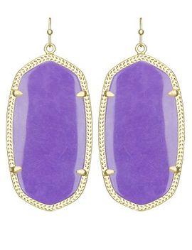 danielle-earrings-in-violet by kendra-scott