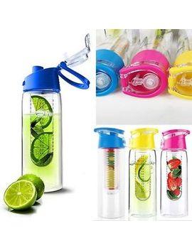 800ml-fruit-infusing-infuser-water-sports-health-lemon-juice-bottle-flip-lid by unbranded_generic