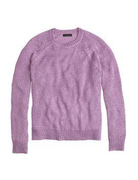 metallic-side-slit-sweater by jcrew