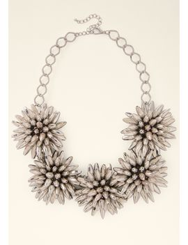 flower-statement-necklace by bebe