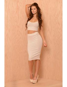 dolly-skirt---oatmeal by fashion-nova