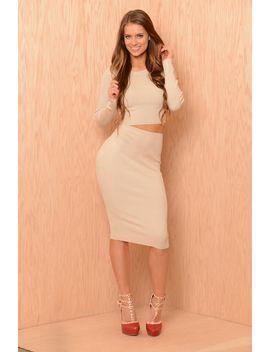 knit-midi-pencil-skirt---sand by fashion-nova