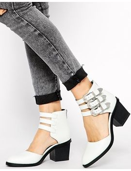 asos-ragan-two-part-ankle-boots by asos-collection